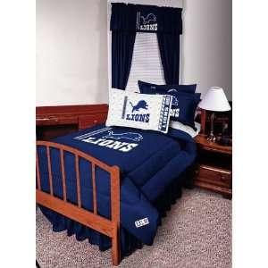 NFL Detroit Lions Complete Bedding Set Full Size Sports & Outdoors