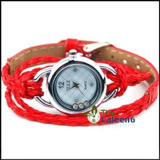 NEW Quartz Bracelet Charm Ladies Quartz Woman 10 Colors Candy Wrist