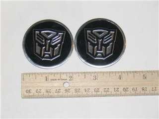 NEW Transformers Emblem Badge Sticker Chrome Autobot 3D