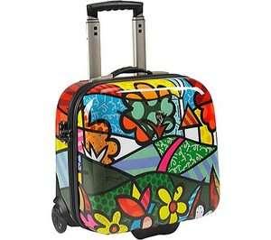 Romero Britto New Flowers Luggage Heys E Case Laptop
