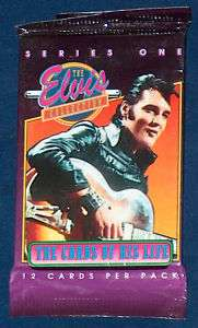 1992 ELVIS PRESLEY KING ROCK & ROLL WAX PACK CARDS MINT