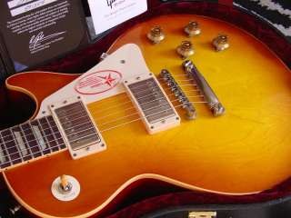 TODAYS AUCTION IS FOR A 2009 GIBSON LES PAUL CUSTOM HISTORIC 1958S