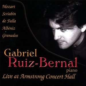Live Armstrong Concert Hall Gabriel Ruiz Bernal Music