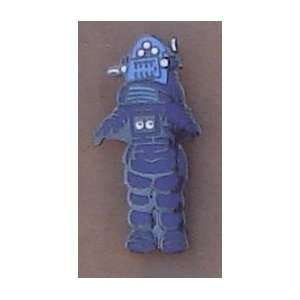 Robbie The Robot Enamel Hat Pin From Japan Everything