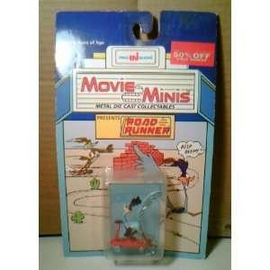Looney Tunes Road Runner Die Cast Metal Figurine (1988) Toys & Games