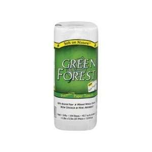 Green Forest White Paper Towels ( 30Xrolls)