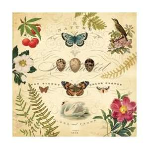 Flora & Fauna Foil Paper 12X12 by K&Company Arts, Crafts & Sewing