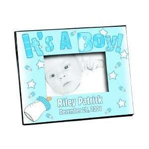 BABY ITS A BOY PICTURE PHOTO FRAME PERSONALIZED FREE: Baby