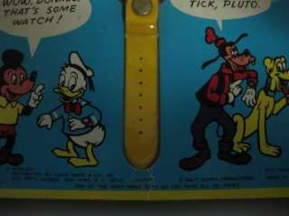 Vintage 1971 Marx Disney Mickey Mouse Wrist Watch NIB
