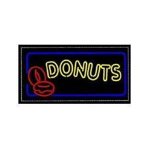 Donuts Backlit Sign 15 x 30 Home Improvement