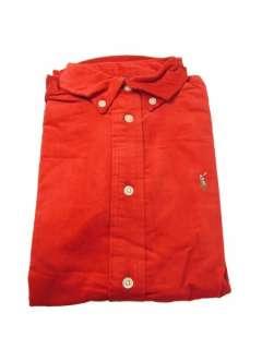 Joblot Kids Red Ralph Lauren Long Sleeve Polo Shirts