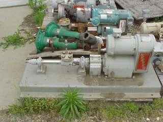 Moyno 6MI Stainless Steel Variable SPEED Pump w Motor