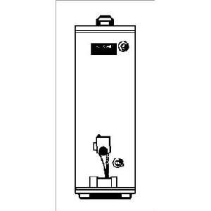 com Reliance water heater co 12 50 YQRT RDC26 50gal natural Gas water