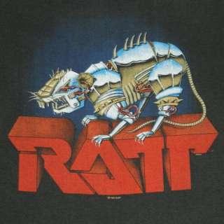 1984 RATT VTG TOUR SWEATSHIRT MUSCLE T SHIRT CONCERT OG