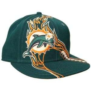 NFL Miami Dolphins REDZONE Flat Bill Cap Sports