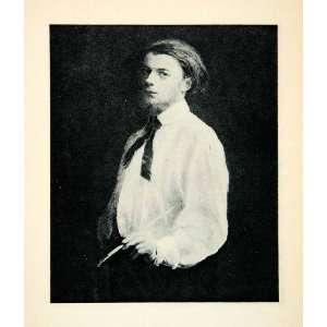 com 1927 Rotogravure Self Portrait Henri Fantin Latour Painter Artist