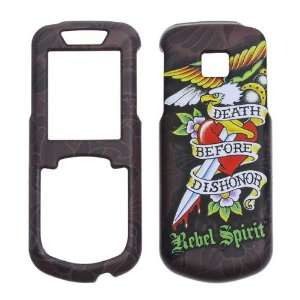 Rebel Spirit Death Before Dishonor with rubberized finish