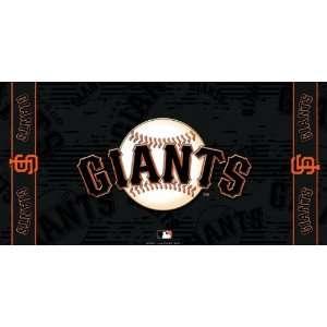 MLB San Francisco Giants Fiber Reactive Beach Towel