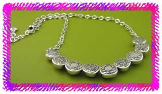 BRIGHTON Silver THE DUCHESS Collar Necklace NWTag