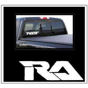 Ratt Large Vinyl Decal