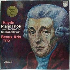. 29, 30 & 31 in E Flat Minor, Vol. 2 Beaux Arts Trio, Haydn Music