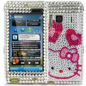 Ecell   CLEAR HELLO KITTY CRYSTAL BLING CASE COVER FOR