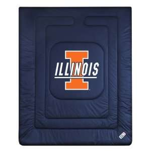 Ilini Locker Room Twin Size Jersey Comforter