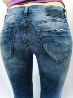 NWT DIESEL BRAND Womens Stretch Vintage Jeans Livy 8QY