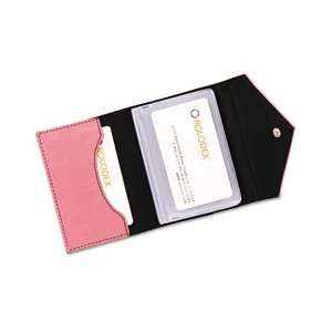 Rolodex™ Resilient Pink Personal Card Case