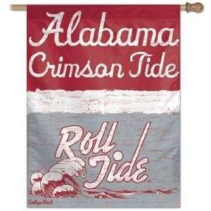 Alabama Crimson Tide Roll Tide Vintage Flag Sports