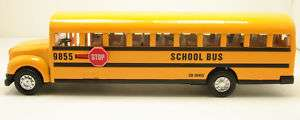 School Bus Diecast Model pull back action toy with operable doors