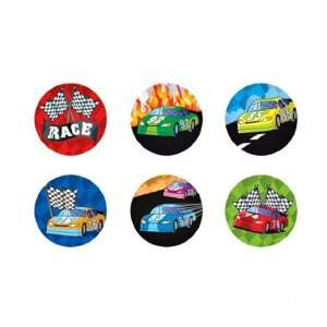 Race Car Stickers ~ 100 Stickers ~ 1.5 ~ New ~ Racing Toys & Games