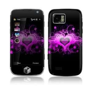 Samsung Omnia II (i800) Decal Skin   Glowing Love Heart