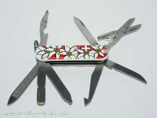 Victorinox Swiss Army Knife RED Edelweiss MINICHAMP 16
