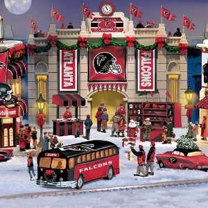 Falcons Collectible Christmas Village Collection Home & Kitchen
