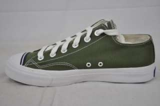 PRO KEDS ROYAL PMC32420 CANVAS OLIVE GREEN WHITE LO STYLE SNEAKER