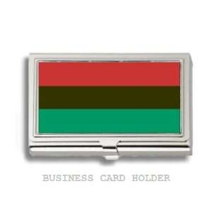 African American Flag Business Card Holder Case