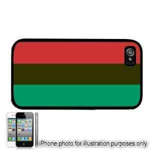 African Afro American Pan African Flag Apple iPhone 4 4S