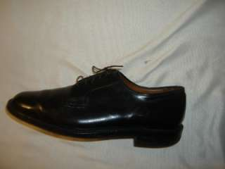 ROYALS Made in England Black Leather Oxford Dress Shoes Sz 12C   12 C