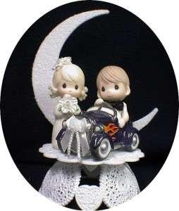 HOT ROD CAR PRECIOUS Wedding Cake Topper Racing LOT SET