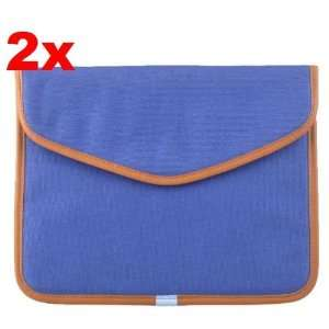 Neewer (2x) Dark Blue Canvas Bag Sleeve Case for iPad