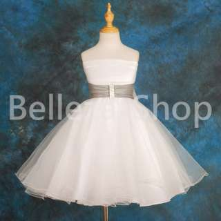 Wedding Flower Girls Party Pageant Dress Size 18m 7