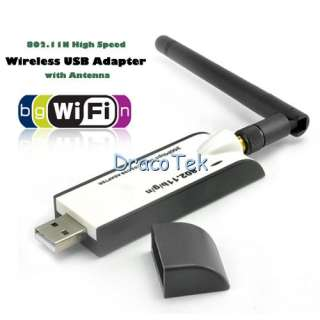 802.11N 300Mbps High Speed Wireless wifi USB Adapter with Antenna