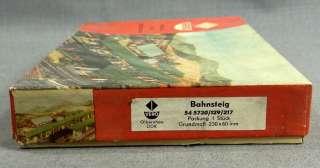 RAILROAD RAILWAY HO TRAIN STATION PLATFORM MODEL KIT ERZGEBIRGE