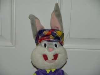 19 Bugs Bunny Golf Club Father Day Plaid Shorts Plush