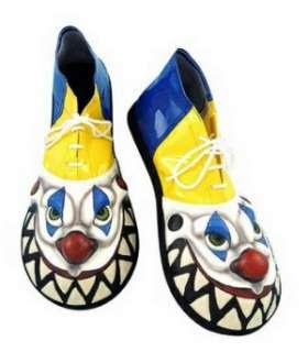 Insane Killer Evil Clown Costume Shoes
