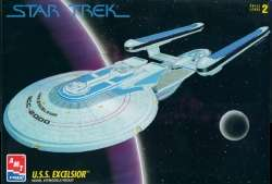 are for the STAR TREK EXCELSIOR or ENTERPRISE B 1/1000 scale models