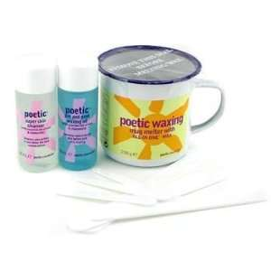 Bliss Poetic Waxing Kit   Azulene Wax + Cleanser + Pre & Post Waxing