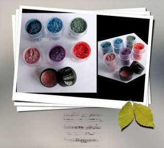 color powder pigment mineral eyeshadow makeup M37