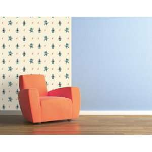 Paul Frank Julius Robot Wallpaper Wall Decal Decor for Children Kids